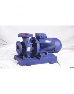 China ISW horizontal end suction pump single stage pipeline monoblock motor pump on sale