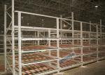Le rayonnage en acier de Q235B étire le support d'entreposage en carton 100-1000 kilogrammes par niveau.