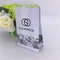 Laminated Custom Printed Resealable Bags , 250g Packing Custom Color Coffee Bean Pouches