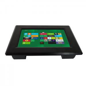 China High Definition Industrial Panel Mount Monitor / Rugged Lcd Monitor Capacitive Touchscreen on sale