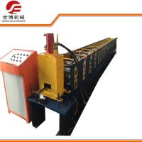 PPGI / GI Materials C Section Roll Forming Machine For Solar Photovoltaic Steel Strut