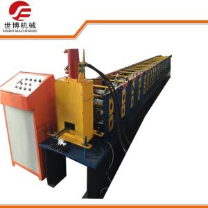 China PPGI / GI Materials C Section Roll Forming Machine For Solar Photovoltaic Steel Strut on sale