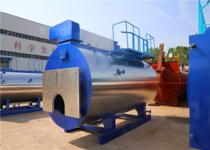 China Condensing Industrial Gas Boiler Capacity 1 - 20 Ton For Package Plant on sale