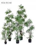 150CM 180CM Artificial Fern Tree  Eco Friendly Good Touching Office Decoration