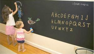 China Waterproof Dry&Water Erase Removable DIY Education Decoration Workplace Chalkboard Blackboard Wall Sticker on sale