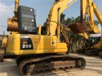 2010 year Used Komatsu PC200-8 Crawler Excavator 20T weight  with Original Paint