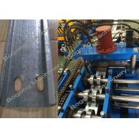 Cold Rolled Steel Purlin Roll Forming Machine With 15KW Motor Power