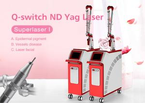 China Korea Light Guide Arm Q-Switch Tattoo Freckle Birthmark Removal Laser on sale