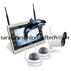 China 960P HD 4CH Home Security WIFI Wireless IP Video Cameras NVR Kit on sale