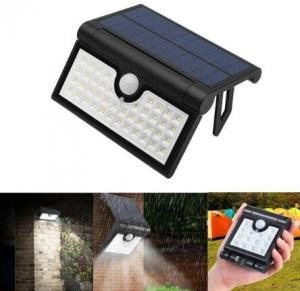 China 14/42/58 LED Foldable Solar PIR Motion Sensor Wall Light Outdoor Waterproof Portable Lamp on sale