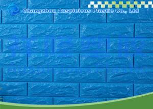 China Home Decor 3D Brick Foam Wallpaper Interior Bathroom Wall Board Foam Cushion Waterproof on sale