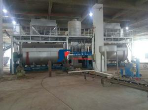 China Multi Blade Industrial Ribbon Mixer / Dry Mortar Mixer Machine CE Certified on sale