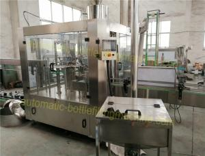 China Still Water / Mineral Water Bottling Filling Machine Production Line , Small Monoblock CGF8-8-3 on sale