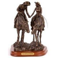 """China """"Two Trails Become One Road"""" Bronze Horse Sculpture on sale"""