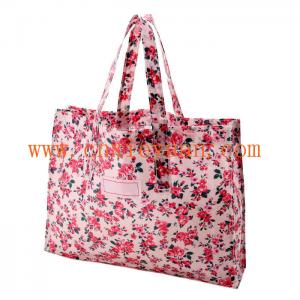 China New 2014 Handbag Women's Pink Floral .Reusable Shopping Bags on sale