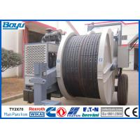 China Overhead Cables Power Line Stringing Machine , Two Bundle Conductor Tension Machine on sale