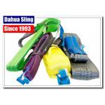 Rainproof Double Ply Flat Lifting Slings Heavy Duty Tow Strap 4 Ton Capacity