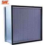 Cleanroom Deap Pleated Hepa Filter , 0.3 Micron Hepa Filter With Paper Foil Separater