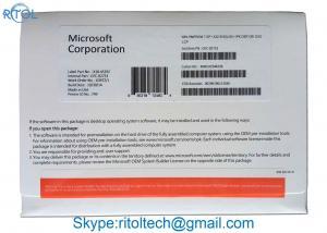 China Original Windows 7 Home Premium Product Key Sp1 OEM DVD Key Code License 32 / 64 Bit on sale