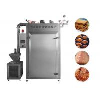 China Simple Operation Stainless Steel Electric Meat Smoking Equipment on sale
