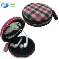 China Eco Travelling EVA Headphone Case , Waterproof Mini Hard Earphone Case on sale