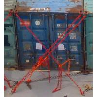 Container lashing G80 lashing chain C hooks and tension lever type