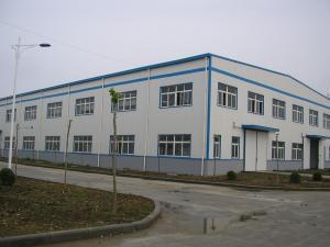 China light prefab steel workshop for Ceramic Machining on sale