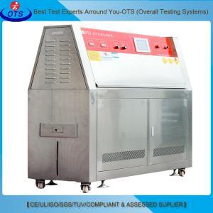 China Industrial Simulation UV Aging Test Chamber UV Light Wavelength Range 315 - 400nm on sale
