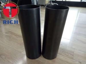 China Small Diameter Welded Steel Tube Thick Wall Q195 ERW Black Steel Pipe For Shock Absorber on sale