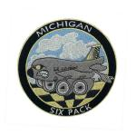 Laser Cut 3in Embroidery Michigan Iron On Patch Twill For Sports