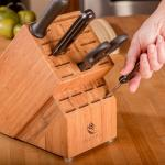 multifunctional knife holder bamboo magnetic knife holder with special design