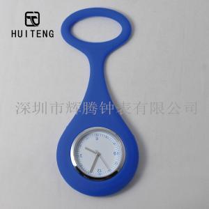 China Keychain Watch Medical Silica Gel Watch Silica Gel Nurse Watch Alloy Head Nurse on sale