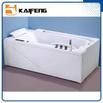 China Apron Front Rectangular Home Jacuzzi Bathtub , Jacuzzi Jetted Bathtubs Comfortable wholesale