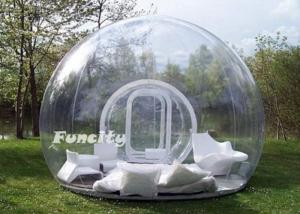 China Large Inflatable Bubble Tent With Tunnels ,  Durable PVC Tarpaulin Bubble Show on sale