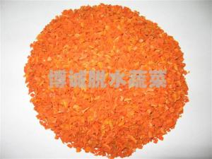 China Factory Price For AD FD IQF Food Supplement Dry Vegetables Air-dried Carrot 3*3mm /10*10mm 7% Moisture on sale