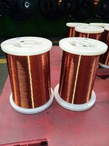 China Supper quality and good price of rewinding wire /magnet wire PEW-2/155 AWG34 for fan motors on sale