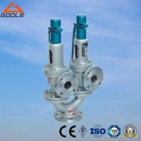 A43h China Steel / Stainless Steel    Twin Spring / Double Port Full Lift Flanged Type Safety Valve
