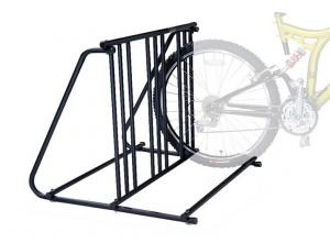 China Metal Gravity Bike Stand , Bicycle Display Racks For Storage on sale