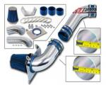 LJ-5082 3.5in  BLUE Cold Air Intake Kit + Filter For 89-93 Ford Mustang 5.0L V8