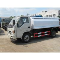 China Foton Oil Tank Truck 4*2 Fuel Tank Truck 95HP carbon steel Tanker Truck on sale