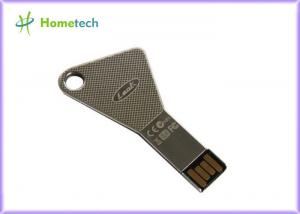 China Metal Key Shaped USB Aluminium USB Flash Drive memory High Speed for Promotion Gift on sale