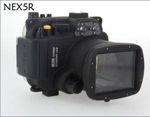 China Meikon IPX 8 PC waterproof underwater Housing for Sony NEX 5R,(18MM-55MM)Camcorder Housing Case on sale