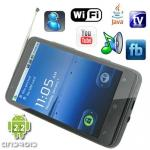 China Android 2.2 OS 4.3 Inch Capacitive Quad Band Android Phone with GPS Navigation [A1000-GPS] wholesale