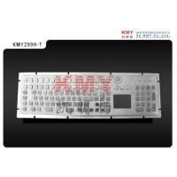 China Medical Kiosk Waterproof Stainless Steel Metal Keyboard with Touchpad on sale