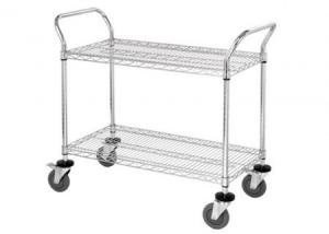 China NSF & ISO Approved Chrome Commercial Wire Shelving on sale