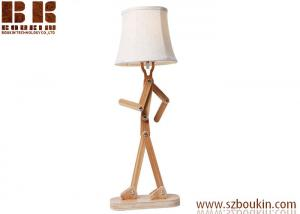 China led desk lamp Modern Solid Wood Writing Reading LED Table Lamp on sale