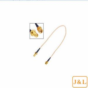 China RP-SMA Male to RP-SMA Female RF Connector Pigtail Cable on sale