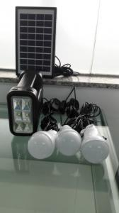 China Hot-seeling in Africa rechargeable New energy 4W DIY solar home lighting kits with 3 led light for 3 rooms lighting on sale