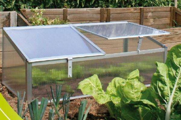 Polycarbonate Aluminum / Cold Frame Mini Greenhouse / Garden ...