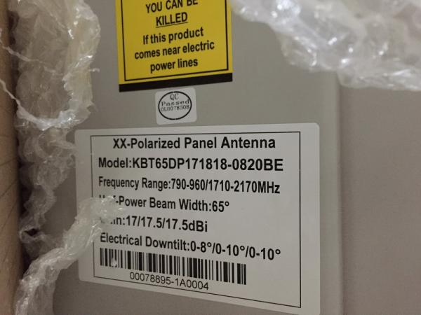 Outdoor Directional Tri-band Antenna (790-960/1710-2170MHz